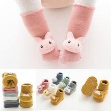 От 0 до 3 лет хлопок Носки для новорожденных детей на осень