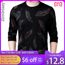 2020 designer pulôver pena masculino camisola camisa de malha camisolas de malha dos homens usar fino ajuste malhas roupas de moda 41241