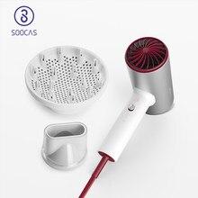 Soocas anion secador de cabelo elétrico h5 1800w profissional cuidados com o cabelo secador elétrico secagem rápida portátil viagem secador difusor