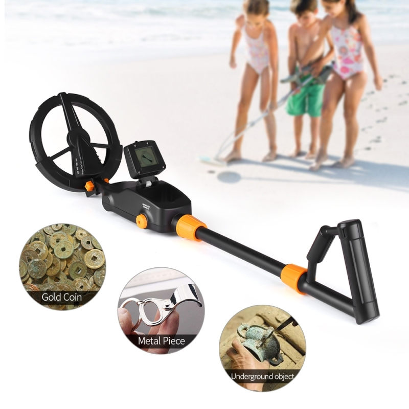 MD1008A Underground Metal Detector Children Toy Detector with LCD Screen, Measuring Range: 10cm