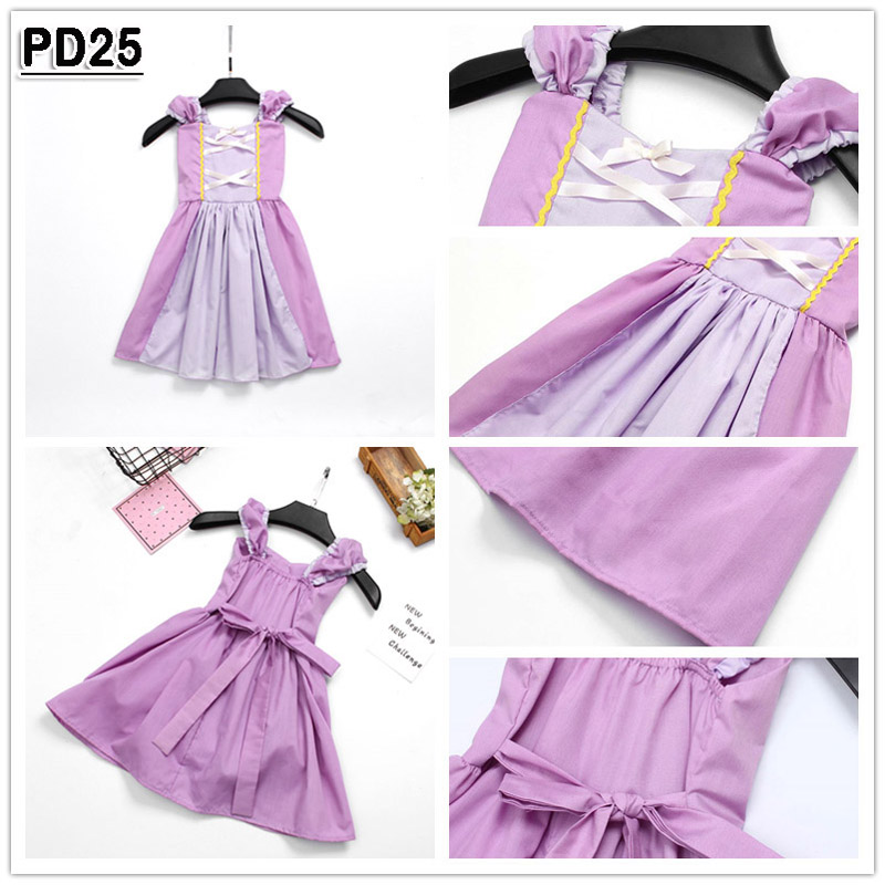 SOFIA Costumes Princess dress for baby girls holiday party gift Outfits PD30
