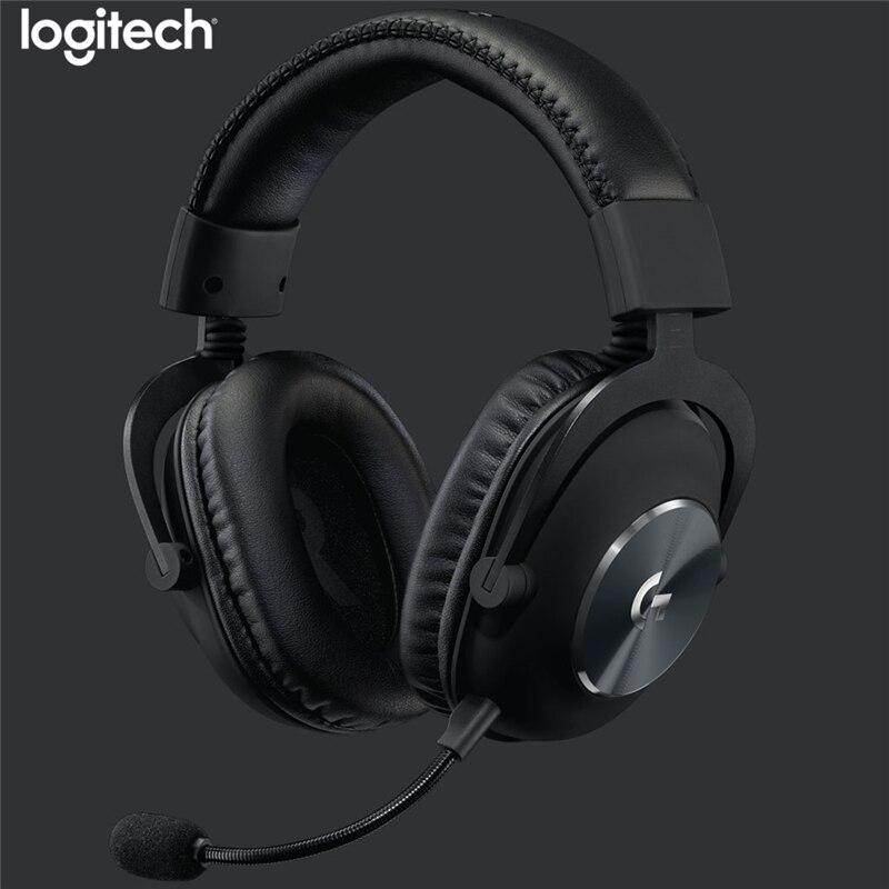 Проводная игровая гарнитура Logitech G Pro X с usb-портом, синий объемный звук 7,1 каналов для ПК/Xbox One/PS4/NS, игровые наушники с микрофоном