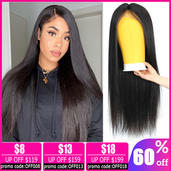 Brazilian straight short 13x4 lace front wig lace front human hair wigs for women bob lace front wigs Non-Remy 150% Density