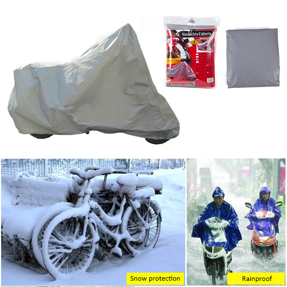 Bicycle Cover Motorcycle Electric Car Waterproof Rain Cover Dustproof Bike Cover Sunshine UV Protection Bicycle Accessories
