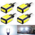 4Pcs 1600LM W16W T15 LED CANBUS 4014-54SMD Reverse Back-up Lights for Audi A3 A4 A6 Quattro Q5 2013 2012 2011 2010 2009 12V