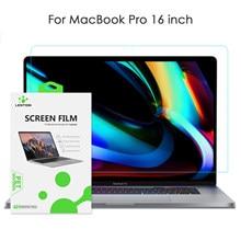 Protetor de tela lention para macbook pro 16 polegadas 2019 modelo a2141, hd filme claro com revestimento hidrofóbico proteger macbook pro16