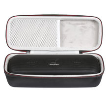 Newest Hard EVA Protect Cover Travel Storage Case for Anker Soundcore Motion+ Bluetooth Speaker Portable Bag with Mesh Pocket(China)