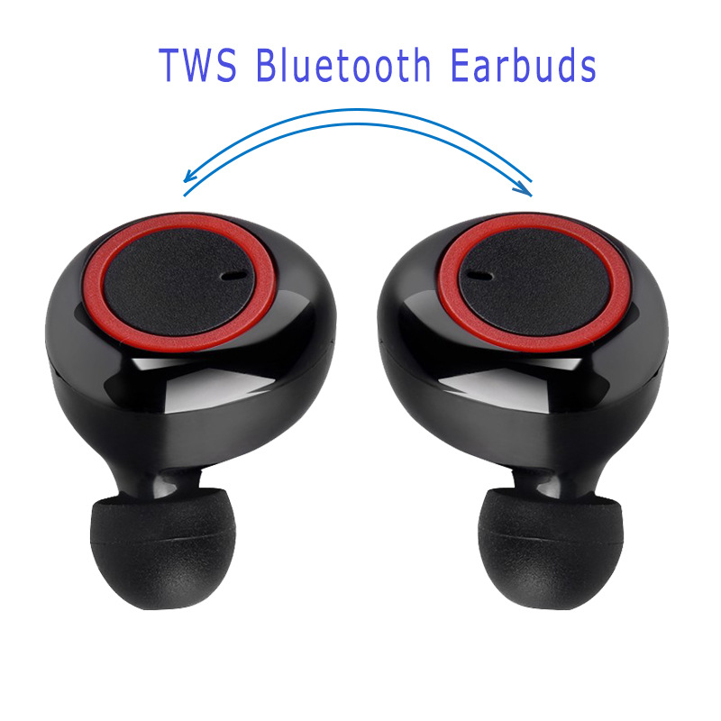 Y50 Bluetooth Earphone 5.0 TWS Wireless Headphons Earphones Earbuds Stereo Gaming Headset with Charging Box for All Smart Phone 2