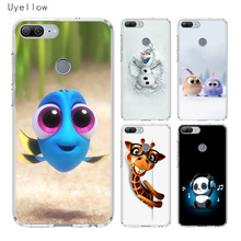 Uyellow Cute Cartoon Image Phone Case For Huawei Honor 8A 8X 8C 8S 9 9X 10 20 lite Pro Play 20i V20 Silicone Cover
