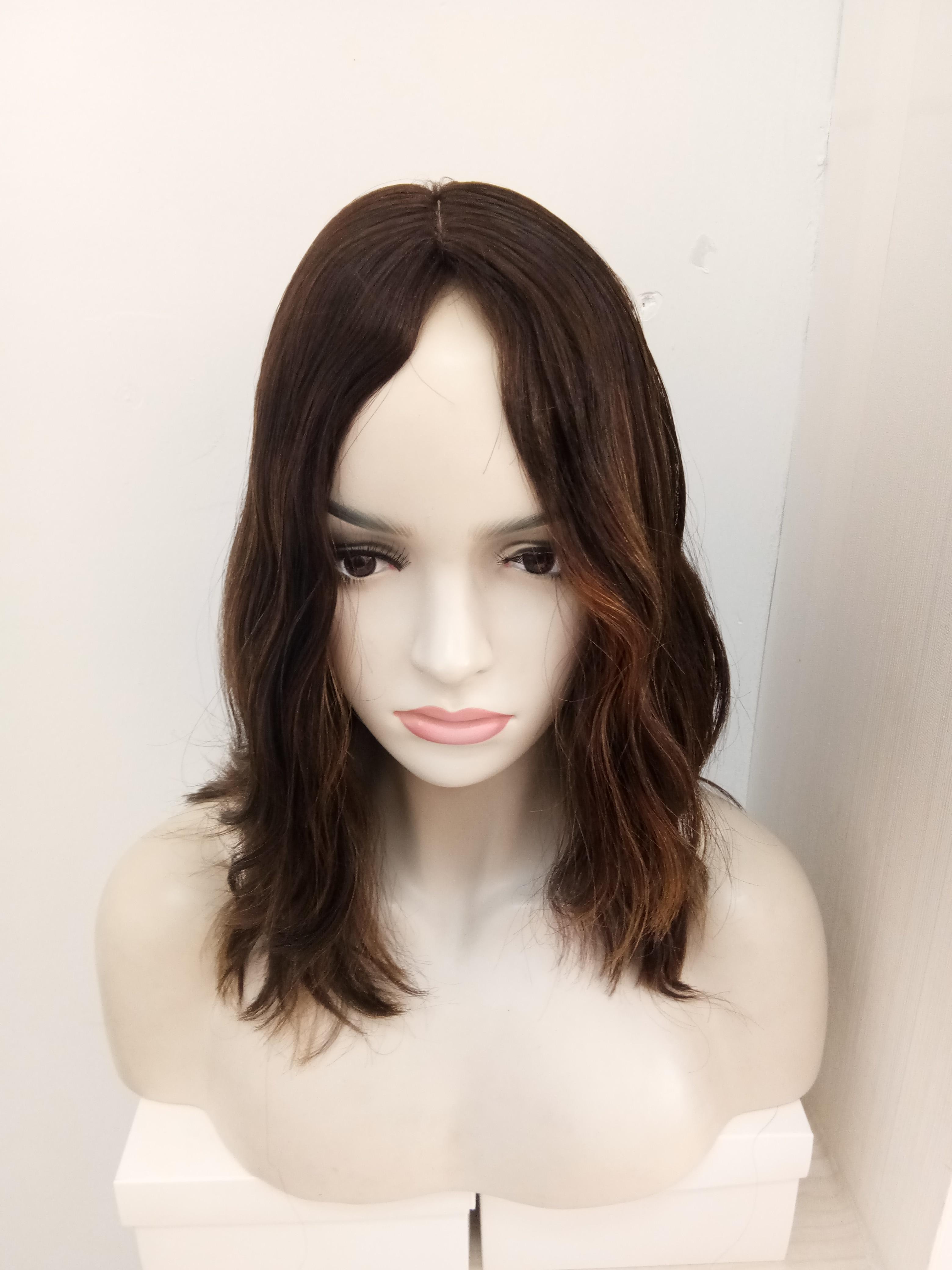 Tsingtaowigs Custom made   European virgin hair unprocessed hair wavy jewish wig   Best Sheitels wigs free shipping