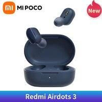 Xiaomi-auriculares inalámbricos Redmi AirDots 3, dispositivo de audio híbrido, AptX, HD, TWS, Bluetooth 5,2, AptX, baja latencia, detección de uso inteligente