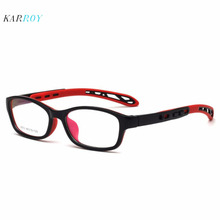 Personality Spectacle Frame Children TR90 Myopic Glasses Boys Fashion Plain Girls Silicone Eyeglasses Frames