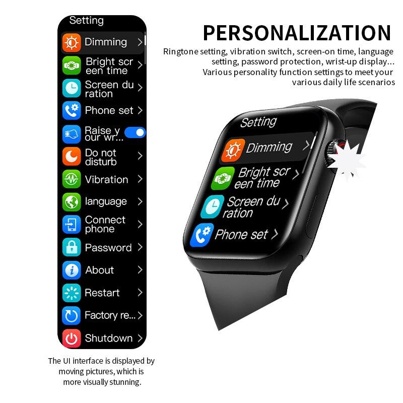 IWO HW12 HW16 Smart Watch 2020 44MM 40MM Women Men Smartwatch with Password Split Full Screen Bluetooth PK IWO 12 Pro FK88 4