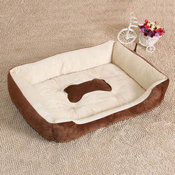 2017 Autumn Winter Pets Dog Bed Warming Plush Dog House Cotton Pet Nest for Cat Puppy Pet Supplies High Elastic PP LESHP