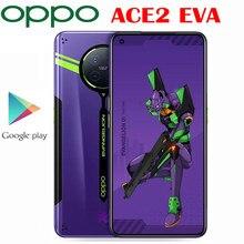 Resmi OPPO ACE 2 5G Smartphone Snapdragon 865 65W SuperVOOC 2.0 40W AirVOOC 10W OTG OLED 90HZ ekran 6.55 ''oyun telefon NFC