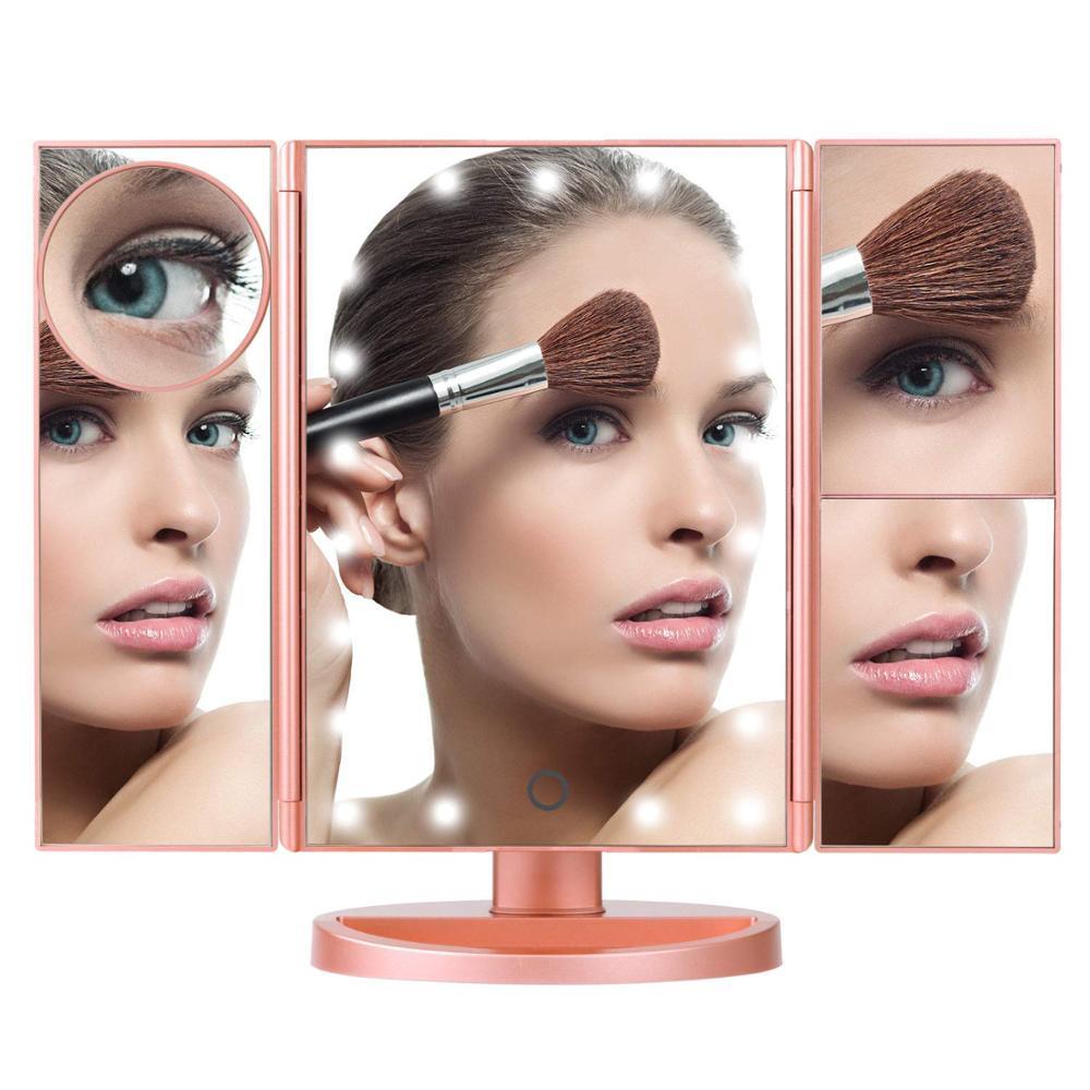 MM01B ванная комната макияж Голливуд 20X30 X увеличительное туалетное Led зеркало для макияжа с лампочкой светильник