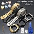 DW 5600 Correa reloj Correa bisel 5600 Metal GWM5610 GW5000 Acero inoxidable Correa marco gshock pulsera reparación herramientas