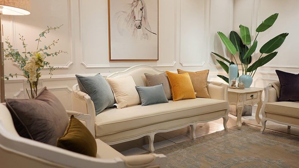 luxury velvet pillow covers