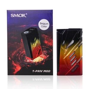 Image 5 - Orijinal SMOK t priv 220W kutusu MOD çift 18650 pil elektronik sigara Vape Mod için 510 konu