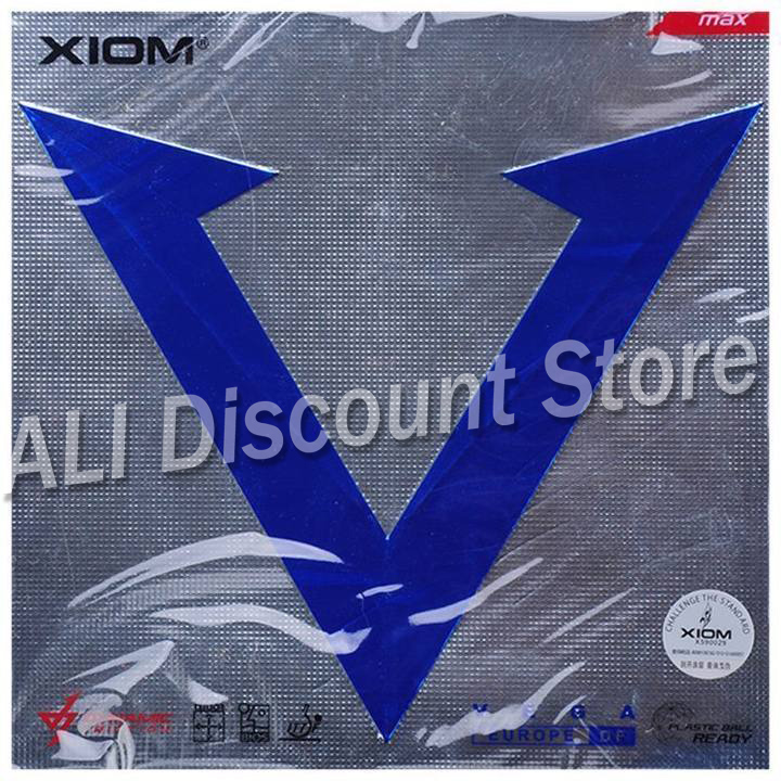 XIOM Original VEGA Europe DF Table Tennis Rubber Ping Pong Sponge Tenis De Mesa