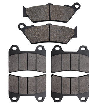 Motorcycle Front and Rear Brake Pads For Moto Guzzi California Jackel Special 1100 Stone Series EV Vintage 1999 2000 2001-2008 image