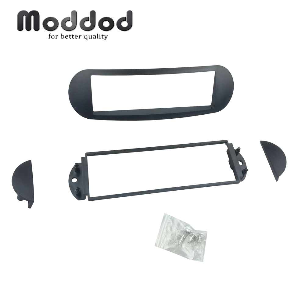 One 1 Din Fascia For VOLKSWAGEN VW New Beetle 1998 + Radio DVD Stereo Panel Dash Mounting Installation Trim Kit Face Frame Bezel image