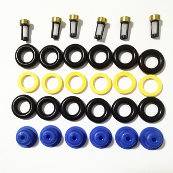 6sets Fuel Injector Service Repair Kits For BMW E23 E24 E28 E30 E34 320i, 323i, 520i, 525e 533I (AY-RK002) Free Shipping image