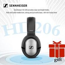 Sennheiser hd201/hd202/hd206 3.5 مللي متر السلكية سماعات عزل الضوضاء سماعة ستيريو عميق باس آيفون/أندرويد