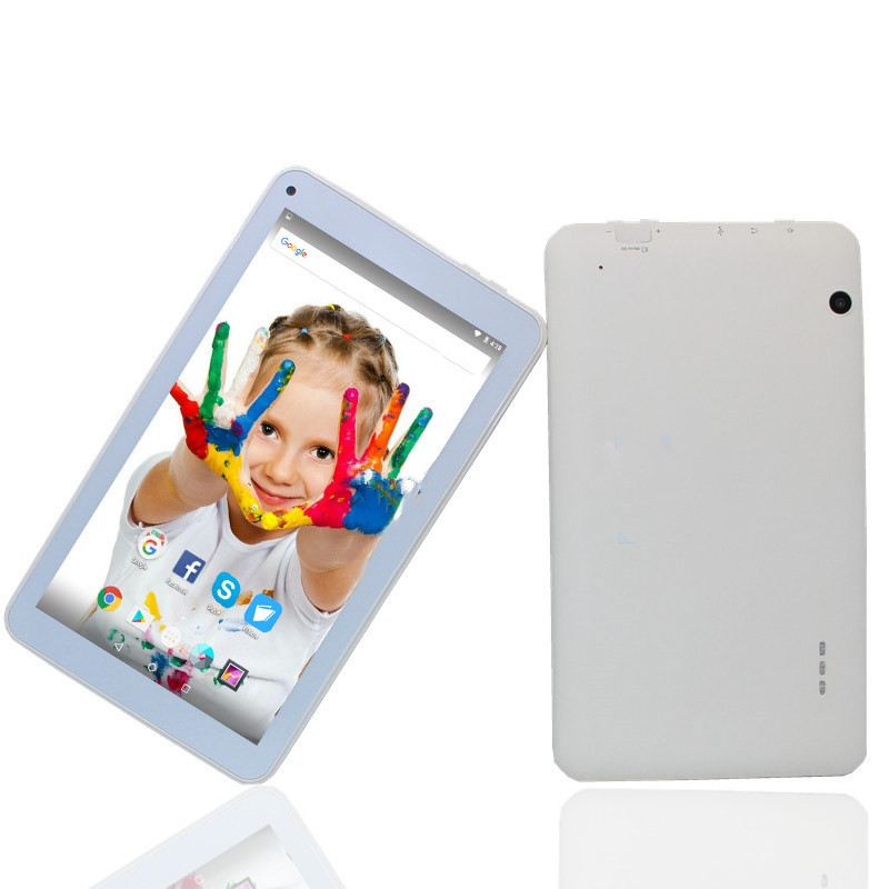 Y700 TabletPC Android 6.0 1GB/8GB Quad-Core 1024x 600 7inch White Tablet WIFI Bluetooth 4.0 HD Screen Multi-touch For Kids