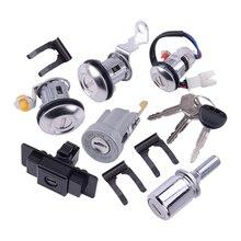 Zündung Handschuh Box Reserverad Lock Zylinder Schlüssel Set Fit für Mitsubishi Pajero Montero MK2 V32 4G54 1990 2004