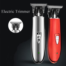 T9 Cordless Hair Trimmer Hair Clipper USB Rechargeable Pro T-outline Electric Shaver for Men Haircut Machine Barber trimmer(China)