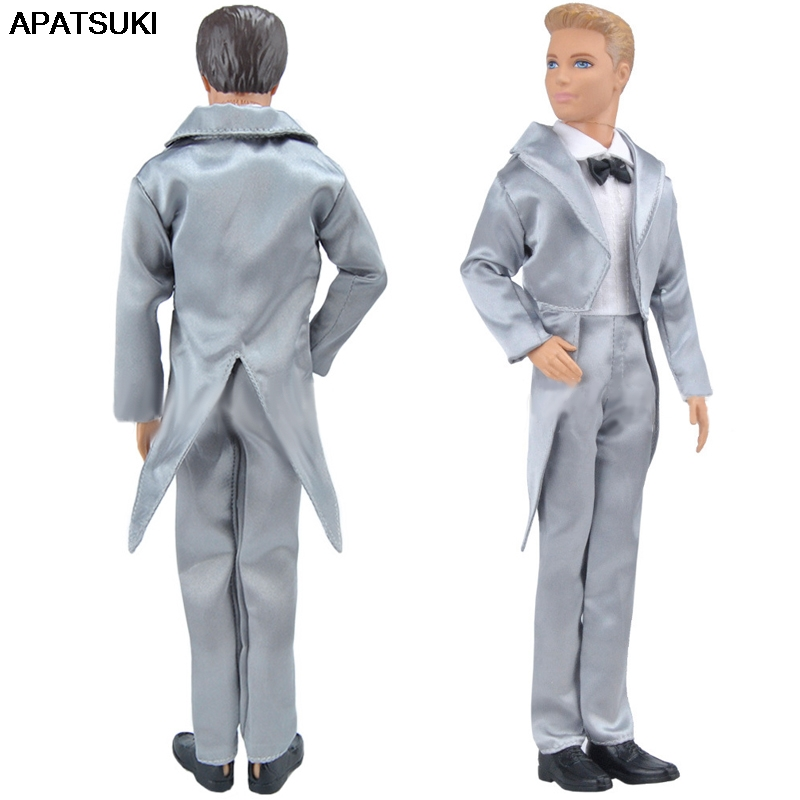 Male Dolls Business Formal Suits Outfits for 1//6 12inch BJD Ball Joint Dolls