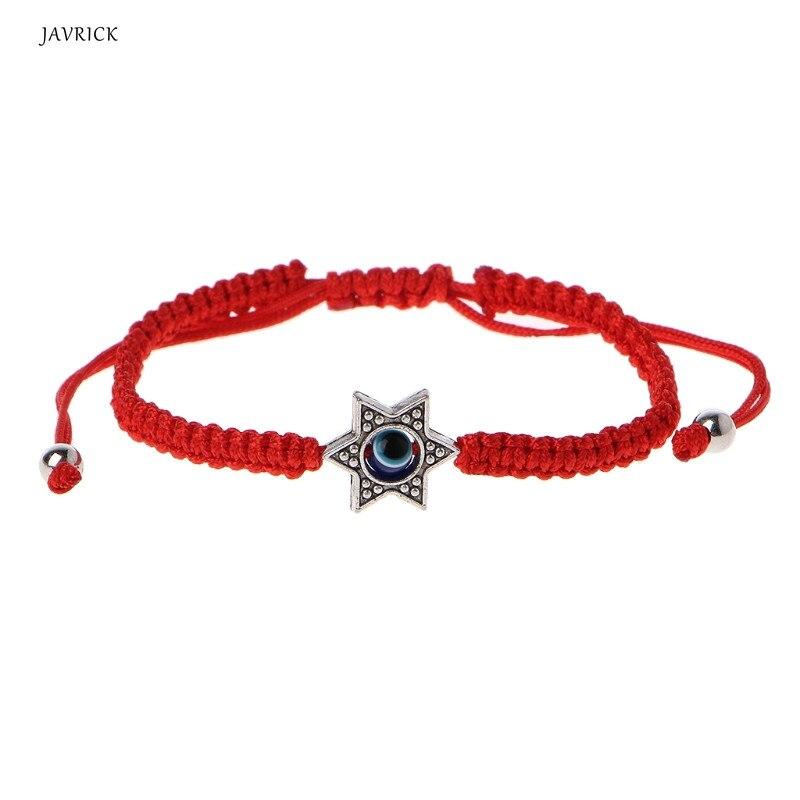 Lucky Kabbalah Red String Thread Hamsa Bracelets Blue Turkish Evil Eye Charm Women Handmade Fatima Friendship Jewelry 8