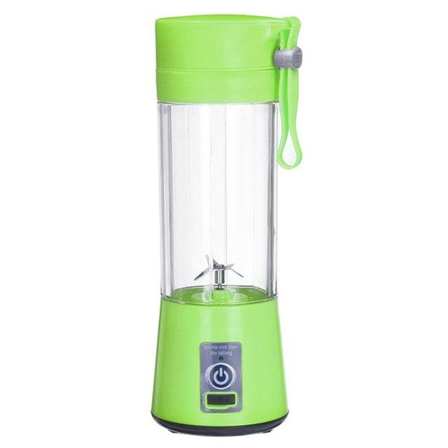 380ML Portable Electric Fruit Juicer 4/6 Blades Home USB Rechargeable Smoothie Maker Blender Machine Sports Bottle Juicing Cup