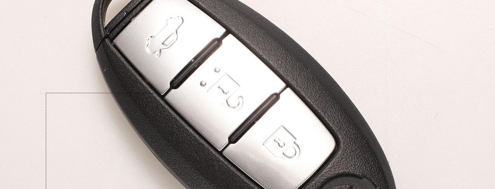 Kutery inteligente remoto chave 3 botões para