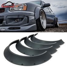 New School Flexible Universal Car Wide Fender  Wheel Arches Flare Extension For BMW BENZ