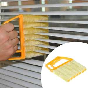Duster-Cleaner Blind-Brush Air-Conditioner with Venetian 1PC Microfiber Window Useful