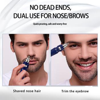 Maszynka do golenia włosów z nosa i uszu bezpieczeństwo pielęgnacja twarzy trymer do nosa i uszu mężczyźni golenie depilacja Razor Beard Personal Health Care Clipper tanie i dobre opinie HIENA CN (pochodzenie) Trimmer for men xiomi