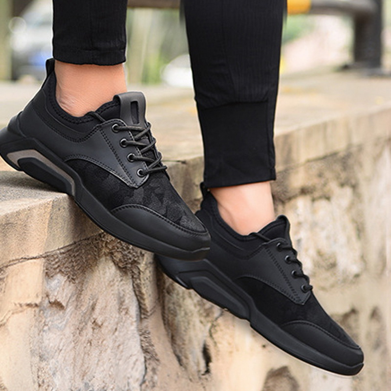 New Men Casual Shoes Lace up Men Shoes Lightweight Comfortable Breathable  Walking Sneakers Tenis