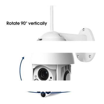 Mini kamery kamera IP tanie i dobre opinie UZZDSS 1080 p (full hd) Kamera kopułkowa NONE Przez IP sieć bezprzewodową CN (pochodzenie) Normalne Boczne WHITE 1080P-White