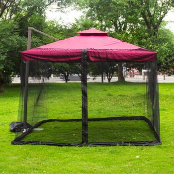 Mosquito Bug Net Parasol Outdoor Lawn Garden Camping Umbrella Sunshade Cover mosquito net canopy moustiquaire mosquitera cama
