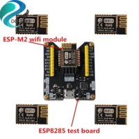 DOITING 5pcs ESP-M2 Wireless Wifi Module ESP8285 Test Board Flash Download Tool Firmware Downloader Compatible With ESP8266