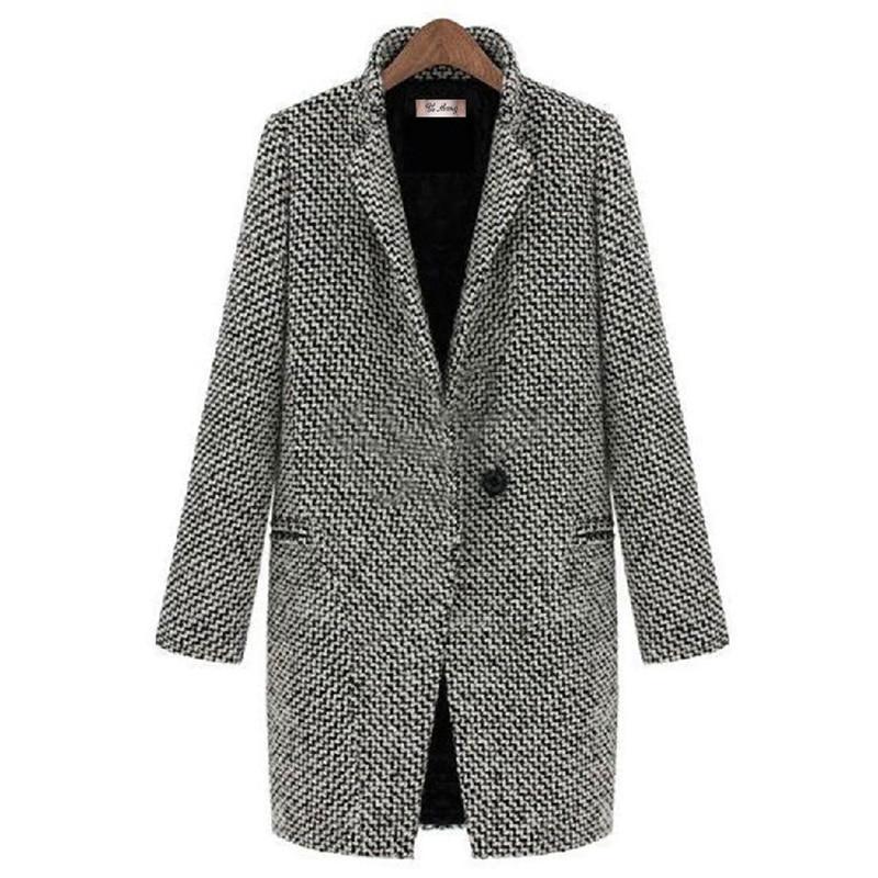 Coat Women Jacket Plus size Winter Outwear Woolen 2020 Fashion Sexy Ladies Oversize Cardigan Velvet Plus