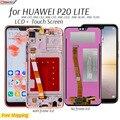 ЖК-экран для Huawei P20 Lite ANE-LX3,LX1,LX2 ЖК-дисплей, сенсорный экран, запасные части для P 20 Lite Nova 3e телефона экран дисплея