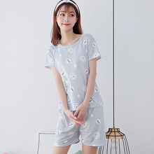 Pajamas For Women Summer pajama set New pattern women sleepwear Sexy sleeveless tops And Shorts
