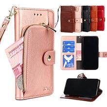 Cover For LG K42 K31 K22 K30 K20 2019 K12 Max Prime Card Slot Wallet Flip Cases For LG Q6 Q6a Q7 Q7a Q8 Q60 Q70 Aristo 2 5 Plus