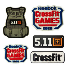 3D Tactical Vest CrossFit 511 Sport Army PVC Velcro Patches Military Armband Waterproof Backpack Sticker Clothing Bag Applique