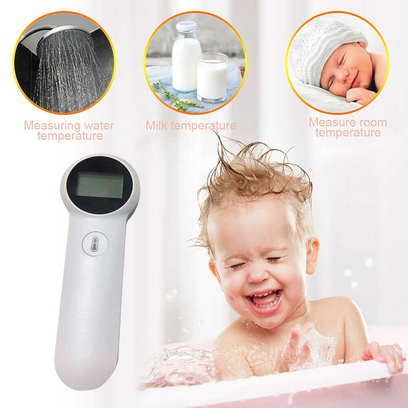Digital Temperatur Thermometer IR Infrared Thermometer Non-contact Forehead Body Surface Temperature Instruments For Adult Baby