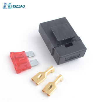 Waterproof ATO Fuse/Blade Fuse Holder Set Kit 3A 5A 7.5A 10A 15A 20A 25A 30A 35A 40A For Car, ship, RV,Motorcycle,Truck image