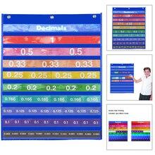Tiles Fraction Math-Resources School 4-Teaching-Aids Classroom Decimal Age